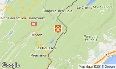Karte Les Rousses Appartement 3743