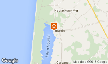 Karte Hourtin Haus 78677