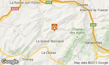 Karte Le Grand Bornand Appartement 68126