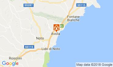 Karte Avola Appartement 113937