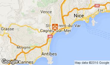 Karte Cagnes sur Mer Studio 56501