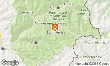 Karte Molines Saint-V�ran Appartement 67854