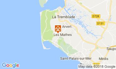 Karte Les Mathes Mobil-Home 113719