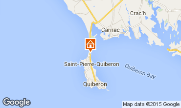 Karte Quiberon Haus 74855