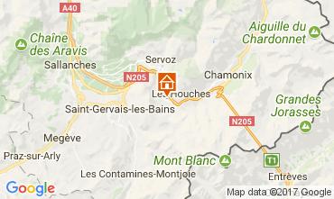 Karte Chamonix Mont-Blanc Appartement 16023