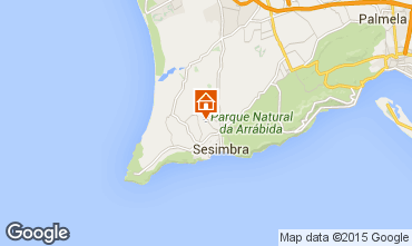 Karte Sesimbra Appartement 43905
