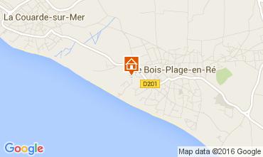Karte Le Bois-Plage-en-Ré Haus 15077