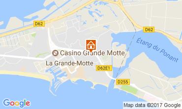 Karte La Grande Motte Haus 112770