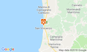 Karte San Vincenzo Villa 117083