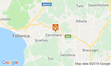 Karte Gavorrano Villa 118750