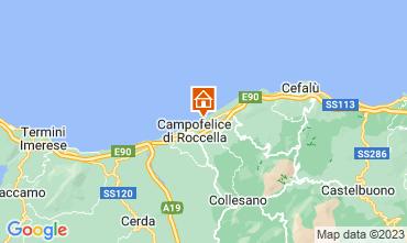 Karte Cefal� Villa 40175