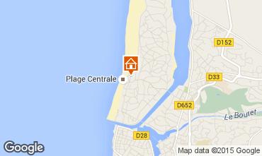 Karte Hossegor Appartement 6479
