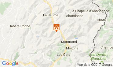 Karte Saint Jean d'Aulps- La Grande Terche Chalet 100964