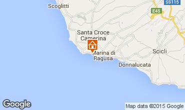 Karte Marina di Ragusa Appartement 100412
