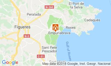Karte Empuriabrava Villa 61447