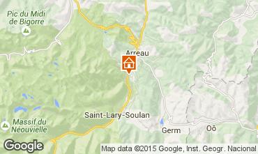 Karte Saint Lary Soulan Appartement 79767