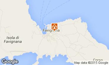 Karte Favignana Appartement 87284