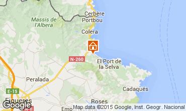 Karte Llança Villa 96959