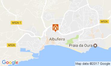 Karte Albufeira Appartement 105739