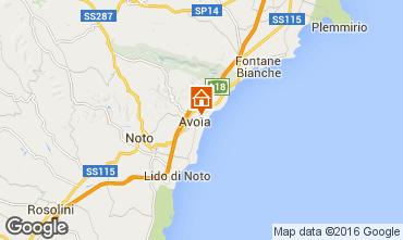 Karte Avola Villa 50885
