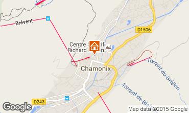 Karte Chamonix Mont-Blanc Appartement 66847