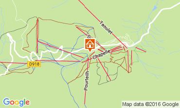 Karte La Mongie Appartement 107350