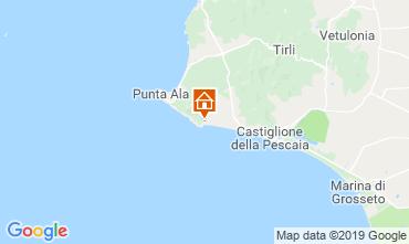 Karte Castiglione della Pescaia Appartement 89159