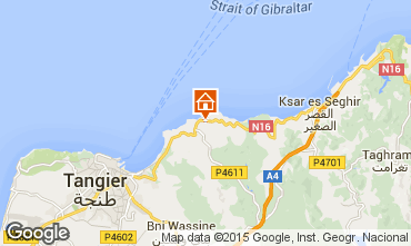 Karte Tanger Bungalow 88641