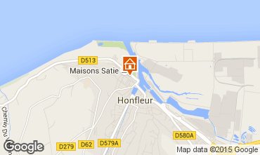 Karte Honfleur Appartement 98685