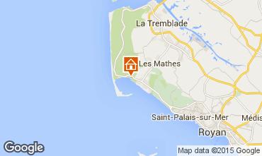 Karte La Palmyre Mobil-Home 81017