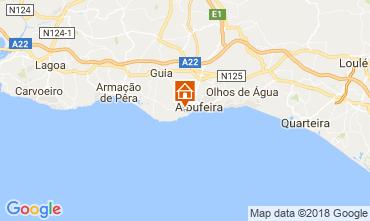 Karte Albufeira Appartement 113722