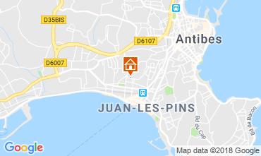 Karte Juan les Pins Appartement 115721