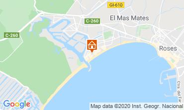 Karte Rosas Appartement 68588
