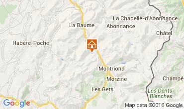 Karte Saint Jean d'Aulps- La Grande Terche Appartement 61931