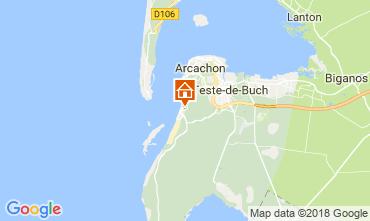 Karte Pyla sur Mer Villa 114292