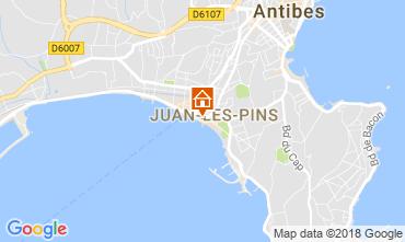 Karte Juan les Pins Appartement 65540