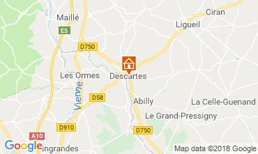 Karte Saint Jean de Monts Mobil-Home 75895
