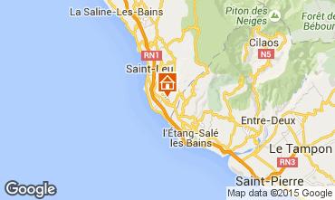 Karte Saint Leu Villa 73883