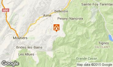 Karte La Plagne Appartement 15900