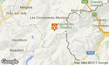 Karte Les Contamines Montjoie Studio 929