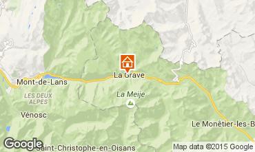 Karte La Grave - La Meije Appartement 4761