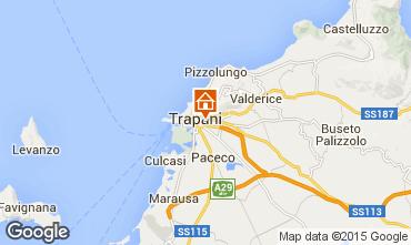 Karte Trapani Appartement 92341