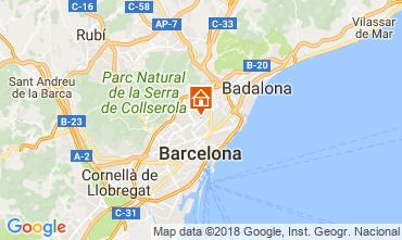 Karte Barcelona Appartement 72336