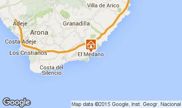 Karte El Medano Appartement 83636