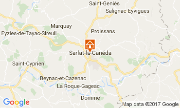 Karte Sarlat Appartement 110908