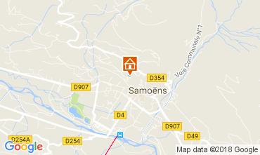 Karte Samoëns Studio 113338