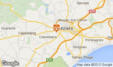Karte Beziers Haus 92346