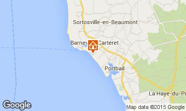 Karte Barneville-Carteret Appartement 94444