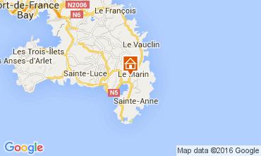 Karte Le Marin Haus 105880
