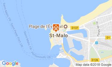 Karte Saint Malo Studio 7565